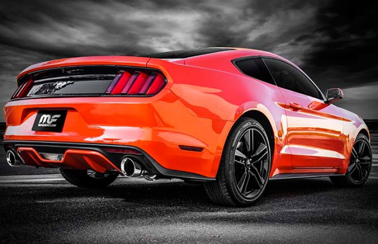 MagnaFlow Competition Auspuff Ford Mustang V6 3.7L 2015