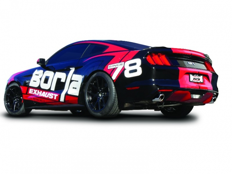 Borla S-Type Auspuffanlage Ford Mustang GT V8 5.0L 2016