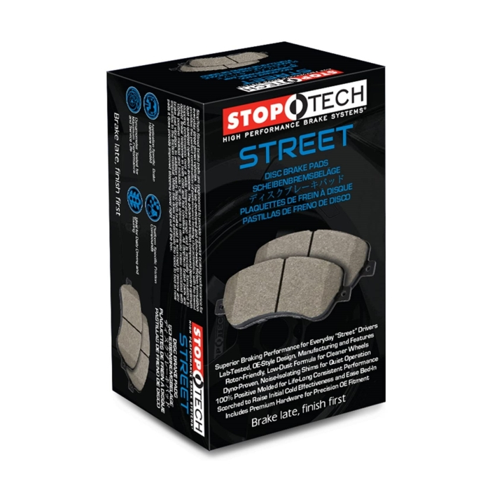 StopTech Street Bremsbeläge Ford Mustang V6 4.0L 2009 hinten
